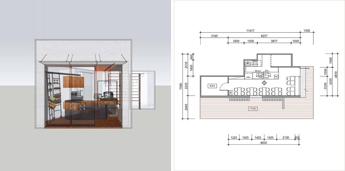 인테리어 디자인, 설계